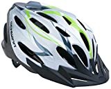 Schwinn Traveler Adult Helmet, White/Green