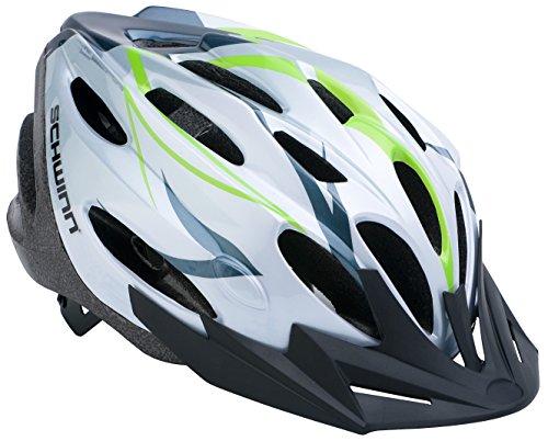 Schwinn Traveler Adult Helmet, White/Green