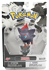 Jakks Pacific Pokemon Black and White Figure Single Pack Volume 1 - Zorua