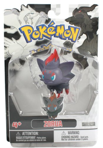 Jakks Pacific Pokemon Black and White Figure Single Pack Volume 1 - Zorua (Zorua Figure compare prices)