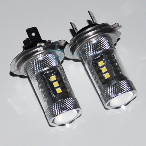 2X H7 22W Ultra Bright White Genuine Cree Xb Led Car Fog Light Lamps Bulbs For Bmw 325 328 525 528 X3 X5