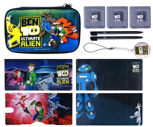 Ben 10 Ultimate Alien 9-in-1 Accessory Pack (Nintendo DSi/DS Lite)