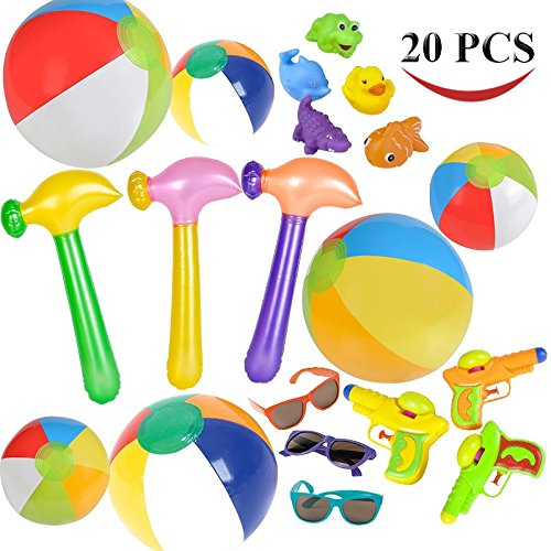 Joyin Toy 20 Pc Beach Pool Toy Assortment