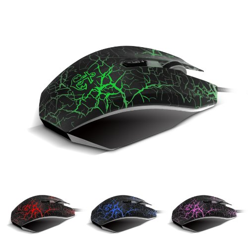 Anker Gaming Mouse, 7 Programmable Button, DPI up to 4000, 5 User Profile(bound to specific games), Omron Micro Switches