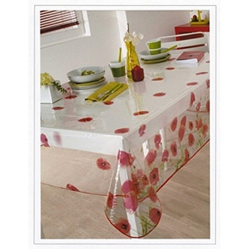 nappe-en-plastique-ronde-140-cm-red-poppy-translucide