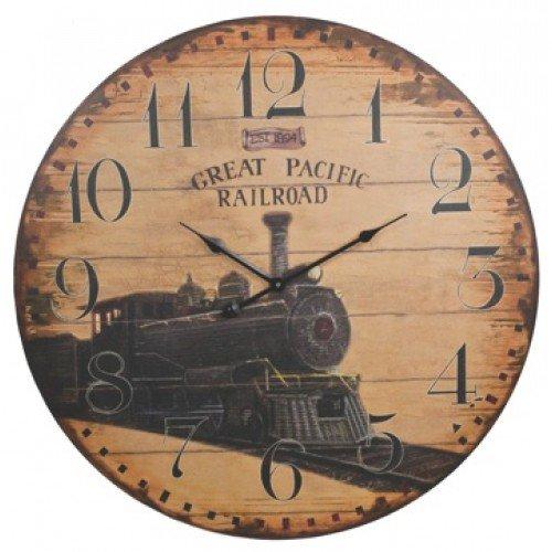 vintage railroad clocks