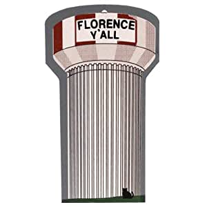 Cats Meow Florence Y 39 All Water Tower Wood Souvenir Landmark Ky Csta2040 Home Kitchen