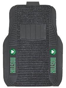 FANMATS NBA Boston Celtics Nylon Face Deluxe Car Mat by Fanmats