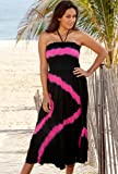 Beach Belle Diagonal Tie Dye Smock Dress Women's Swimsuit thumbnail