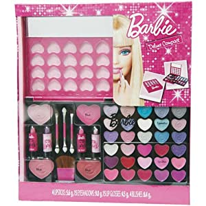 markwins barbie coffret de maquillage compact de luxe barbie jeux et jouets. Black Bedroom Furniture Sets. Home Design Ideas