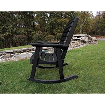 Highwood Weatherly Rocking Chair, Black