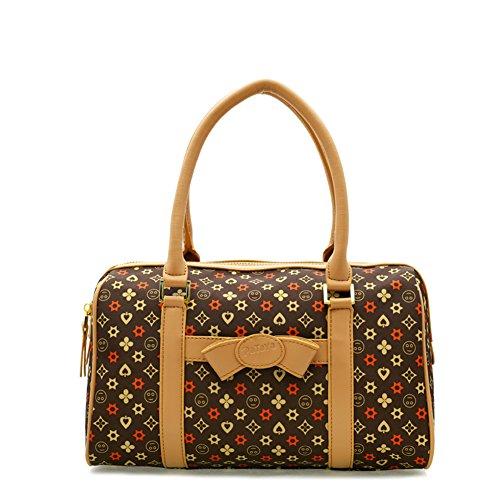 KIU Sac de mosaïque de mode pour dames/Sac à bandoulière/Europe, sac à main de loisirs