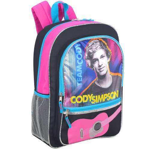 Cody Simpson 16 inch Team Cody Backpack - Black
