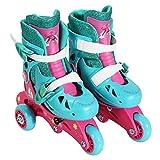DreamWorks Trolls Poppy Girls Glitter Convertible Roller / Inline Skates - Kids