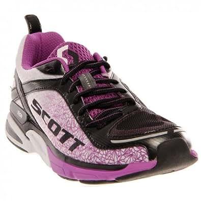 Scott Women's eRide Support2 Athletic Shoes,White/Violet,5.5 M US