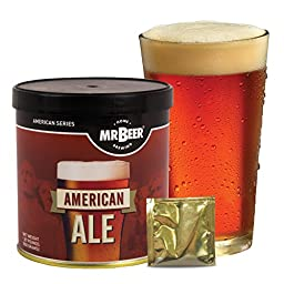 Mr. Beer American Ale Homebrewing Craft Beer Refill Kit