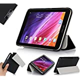 IVSO ASUS MeMO Pad 7 ME176CX Ultra Lightweight Slim Smart Cover Case with Auto Sleep/Wake Function-(Lifetime warranty)-will only fit ASUS MeMO Pad 7 ME176CX Tablet (Black)
