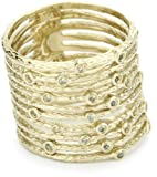 Gala by Daniela Swaebe Pila Yellow Gold Ring Size 6