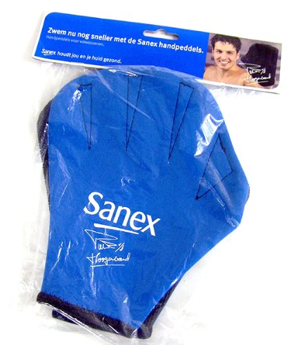 Pair of Sanex Neoprene Swimming Gloves, Large Adults for Fitness swimming or Aqua Aerobics