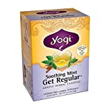 Yogi Teas Soothing Mint Get Regular Tea Bags, 16 Count