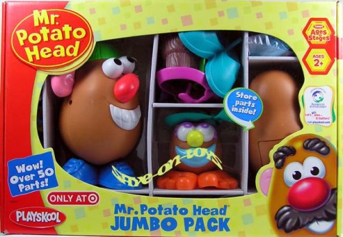 Mr. Potato Head Jumbo Pack - 1