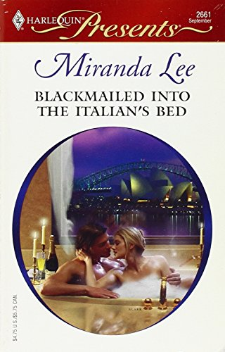 Image of Blackmailed Into The Italian's Bed
