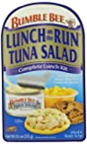 Bumble Bee Foods Lunch On The Run Tuna Salad Kit, 8.1-Ounce Packages (Pack of 8)