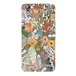 Back cover for Lenovo A6000 Plus Abstract art 7