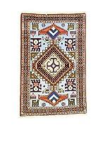 Eden Carpets Alfombra Ardebil Cielo/Multicolor 104 x 68 cm