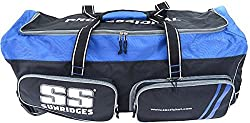 SS Professional Wheel Cricket Kit Bag (Black/Blue)