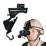 N'Tactical サバゲー 装備 M88 フリッツヘルメット 用 ナイトビジョンマウント セット マウントベース NVG 黒 ブラック