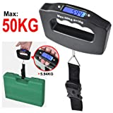 #3: BJE Luggage Travel Weighing Scales , Weighing Scale for Luggage, Suitcase Weighing Scale, Weighing Scale For General Goods, Multi Use Weighing Scale - Upto 50Kgs, Digital Weight Scale, Digital Scale, Kitchen Scales, Weight Machine, Digital Weight Machine, , Travel weighing kg machine, Kata, Weighing Scale For Luggage, Kitchen Scale Digital, Travel Weighing Scale, Electronic Scale,Luggage Baggage Weight Scale (1 Year Warranty)