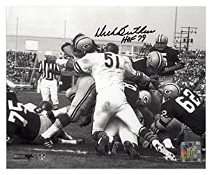 Dick Butkus Chicago Bears Autographed 8