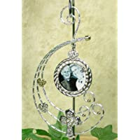 Jeweled Cross Photo Ornament Bereavement Loving Memory Sympathy