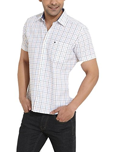 COOLCOLORS Men Regular Fit Cotton CASUAL SHIRT