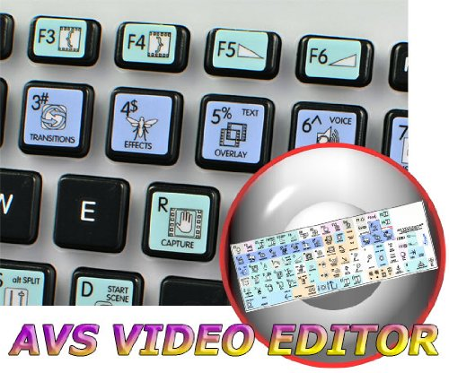 Avs Video Editor Galaxy Series New Keyboard Stickers Shortcuts 12X12 Size