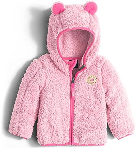 The North Face Infant Plushee Bear Hoodie Sweatshirt Baby Coy Pink Unisex Baby 3-6m