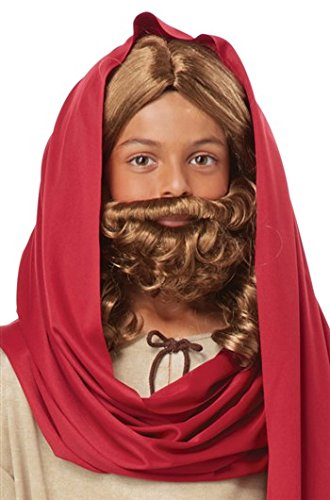 Jesus Wig And Beard Child