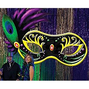 Click to buy Mardi Gras Ball Large Maskfrom Amazon!