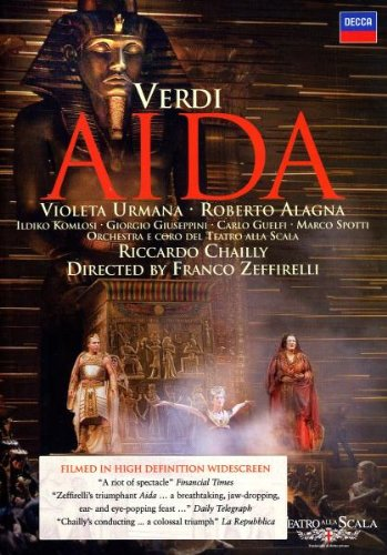 Aida (Urmana, Alagna) - (Dir.Zeffirelli) - Verdi - DVD