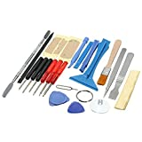 ?The Best Deal?OriGlam 22 in 1 Professional Safe Opening Pry Tool, Mobile Phone Repair Screwdrivers Sucker Hand Tools Kit with Non-Abrasive Nylon Spudgers for iPhone, Smart Cell Phone, Laptop
