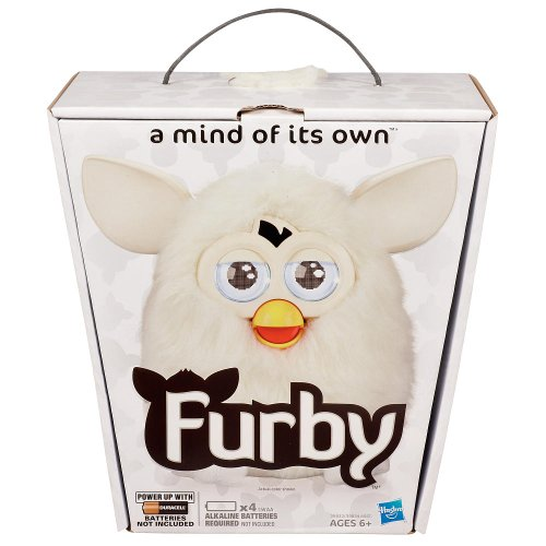 FURBY 2012 WHITE A Mind of its Own NEW