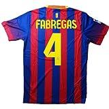 2013-14年版大人用ユニフォーム バルセロナタイプ ホーム #4 セスク・ファブレガス 上下セットレプリカユニフォーム