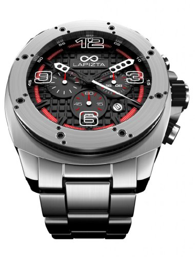 Lapizta Oryx Men'S 48Mm Chronograph Racing Watch - Stainless Steel Strap L21.1205