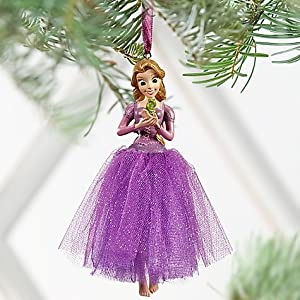 #!Cheap Disney Store Princess Rapunzel Christmas Ornament