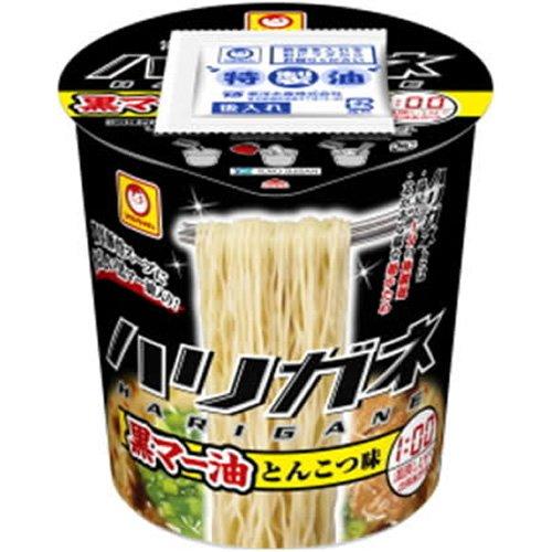 マルちゃん ハリガネ黒マー油とんこつ味 93g×12個