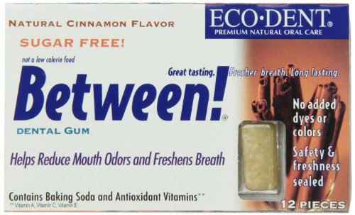 Between Dental Gum, Cinn, 12-Count (Pack of 12) (Cinnamon Soda compare prices)