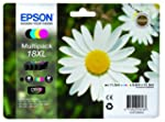 Epson 18XL - Pack de 4 cartuchos de t...