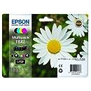 Epson T1816 XL Cartouche d'Encre d'Origine Claria Home Multipack Noir, Cyan, Magenta, Jaune