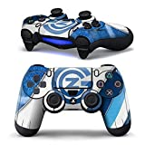 Mod Freakz 2 Pack Play Station 4 Vinyl Controller Skins For Sony Ps4 Dual Shock 4 Wireless Controllers Blue And...